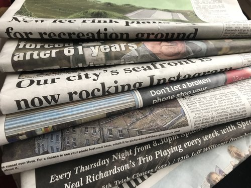 Random – The many uses of a Newspaper
