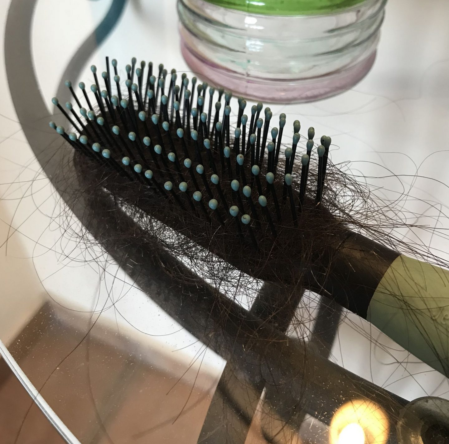 Add hair loss to my ageing battle