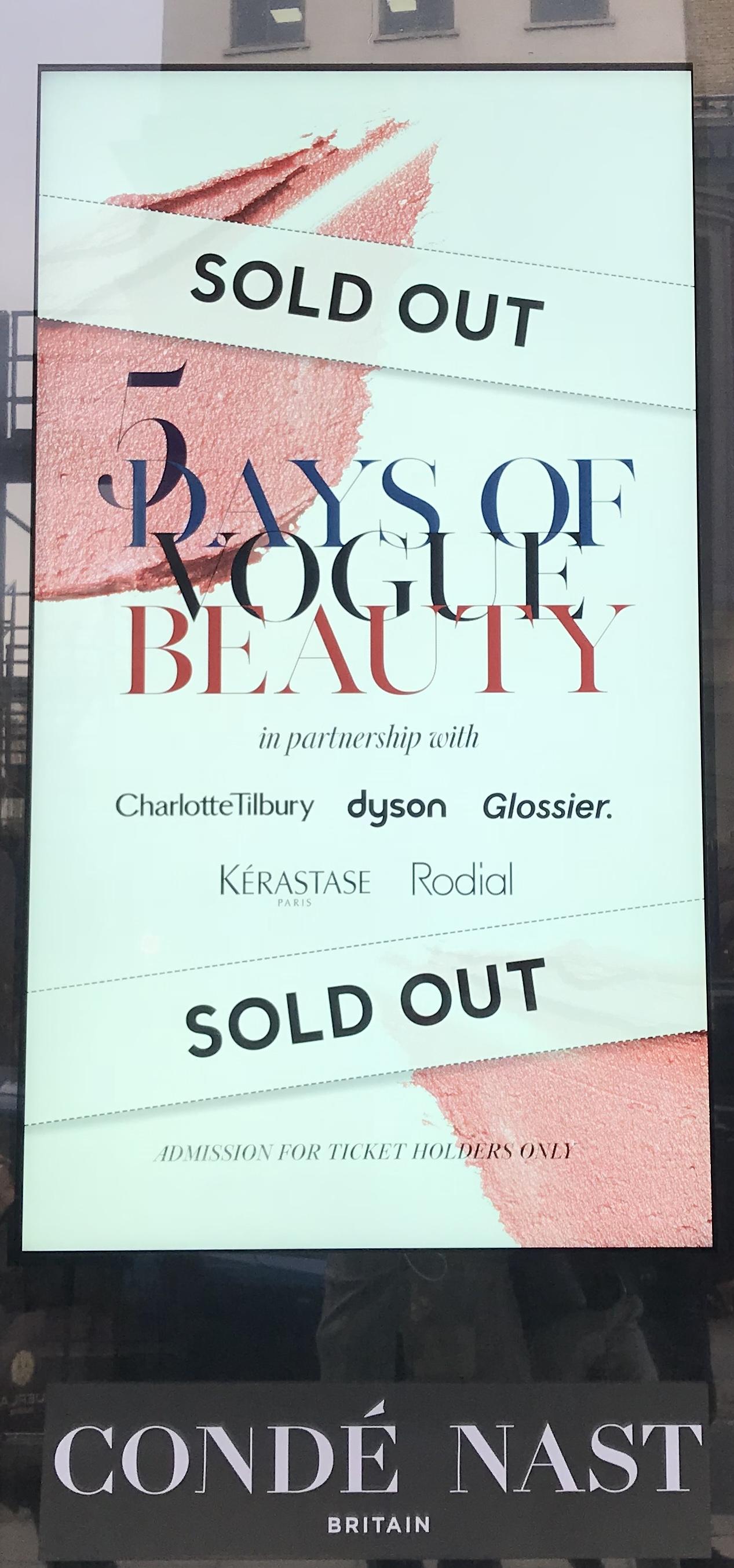 5 Days of Vogue Beauty